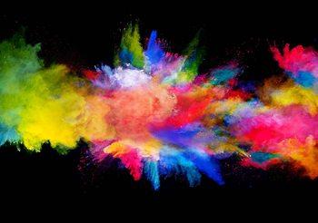 Explosion de couleur Poster Mural