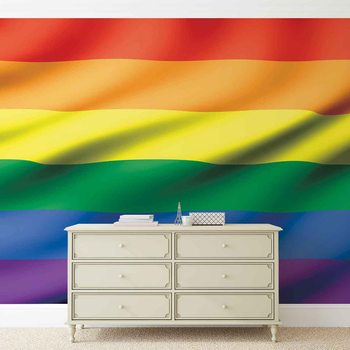 Flag Rainbow Gay Pride Poster Mural