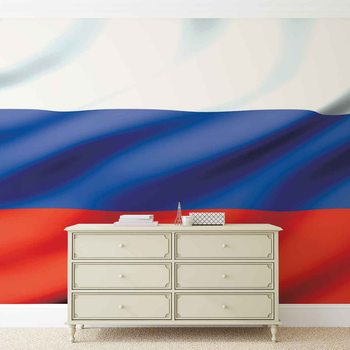 Flag Russia Poster Mural