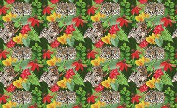 Jungle Cheetah Poster Mural