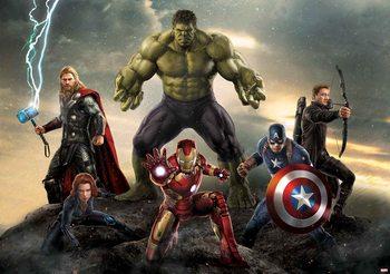 Marvel Avengers Battle Poster Mural