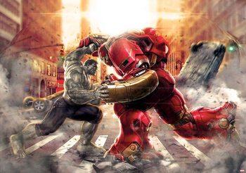 Marvel Avengers Fighting Allies Poster Mural