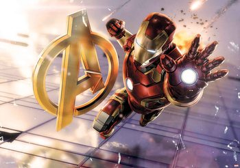 Marvel Avengers Poster Mural