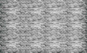 Mur de briques grises Poster Mural