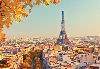 Paris - Eiffel tower Poster Mural