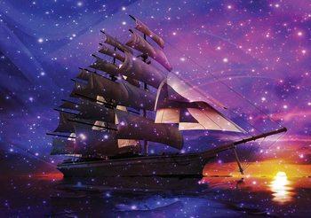 Sailing Ship Poster Mural