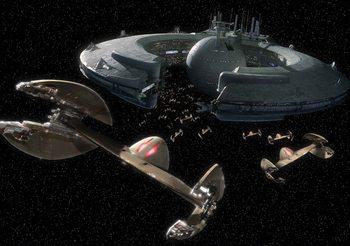 Star Wars Droid Control Ship Lucrehulk Poster Mural