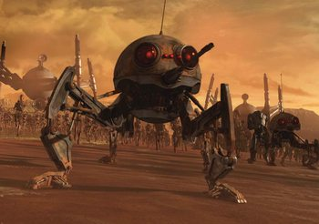 Star Wars DSD1 Dwarf Spider Droid Poster Mural