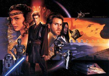 Star Wars Phantom Menace Poster Mural