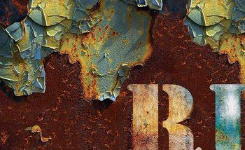 Texture affligée Poster Mural