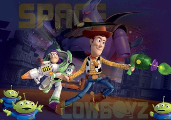 Toy Story Disney Poster Mural