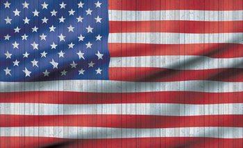 USA American Flag Poster Mural