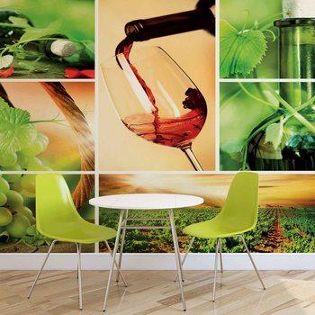 Wine Poster Mural