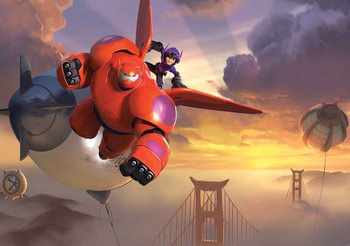 Disney Big Hero 6 Wallpaper Mural