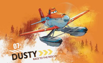 Disney Planes Dusty Crophopper Wallpaper Mural