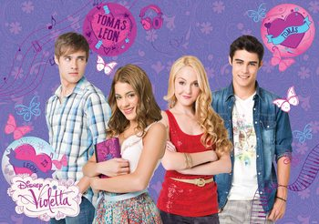 Disney Violetta Wallpaper Mural