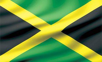 Flag Jamaica Wallpaper Mural