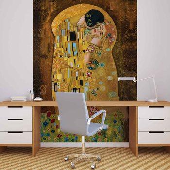 Gustav Klimt Art Kiss Wallpaper Mural