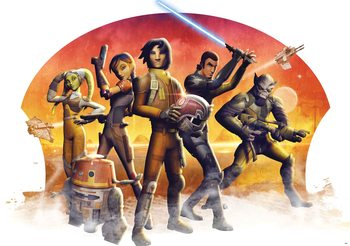 Star Wars Rebels Wallpaper Mural