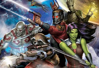 The Guardians of the Galaxy (10909) Wallpaper Mural