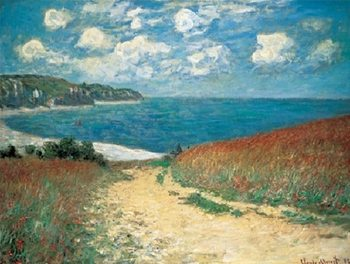 Wheat Field, Pourville Reproduction