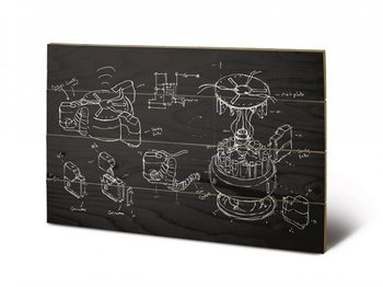 Doctor Who - Chalk board Wooden Art