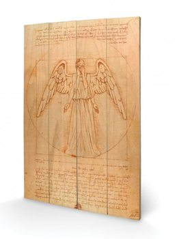 Doctor Who - Weeping Angel Wooden Art