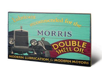 Shell - Morris, 1928 Wooden Art