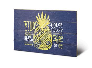 Spongebob - Yellow pinnaple Wooden Art