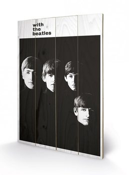 The Beatles - With The Beatles Wooden Art