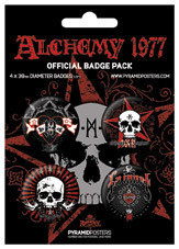 ALCHEMY - La mort Badge Pack