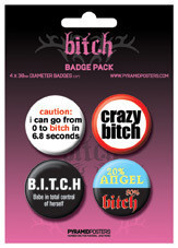 BITCH Badge Pack