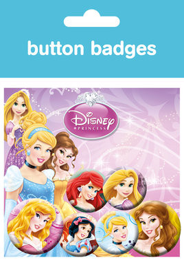 DISNEY PRINCESS Badge Pack