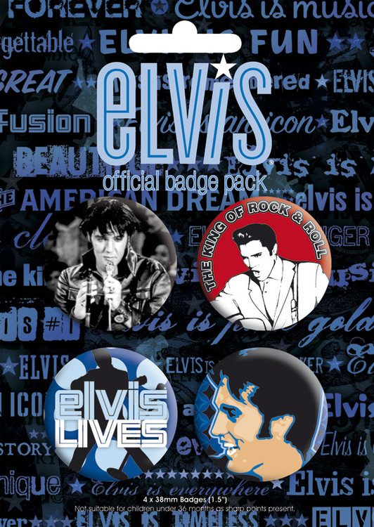 ELVIS PRESLEY Badge