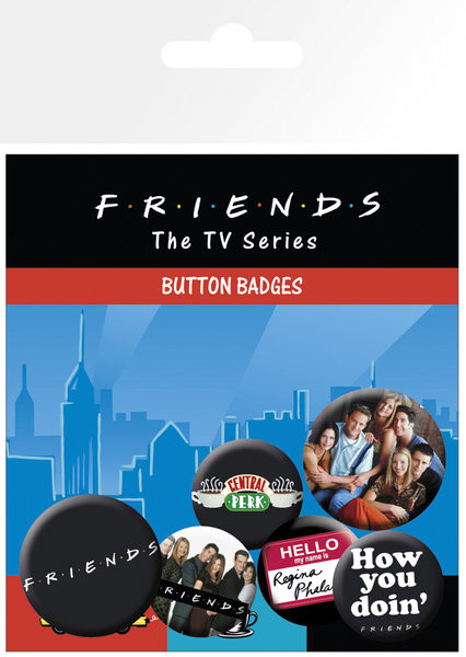 FRIENDS – characters Badge