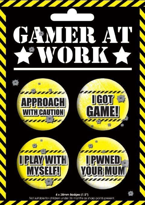 GAMING Badge
