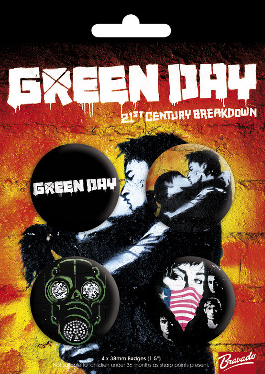 GREEN DAY - bravado Badge Pack