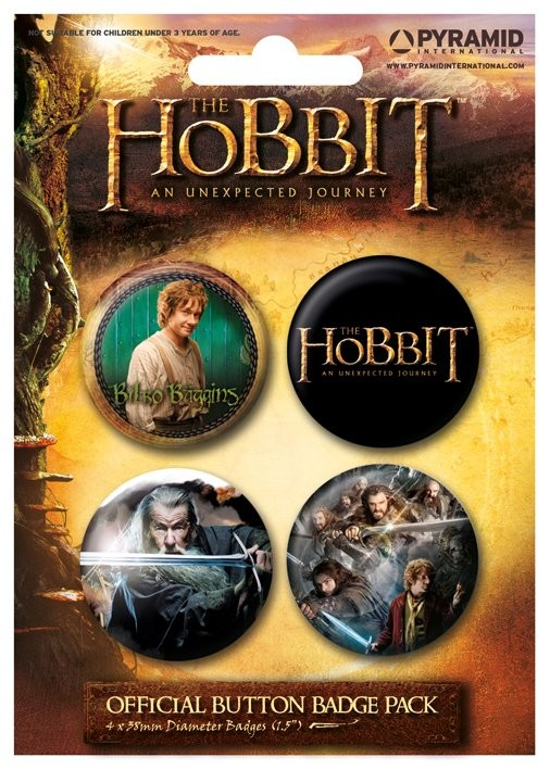 HOBBIT Badge Pack