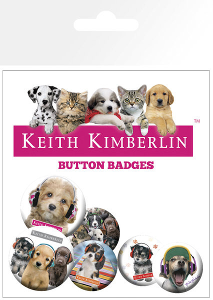 KEITH KIMBERLIN Badge Pack