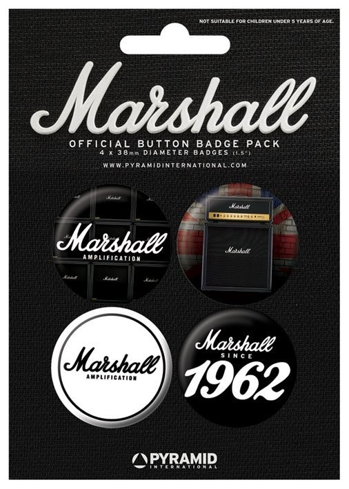 MARSHALL - 1962 Badge Pack