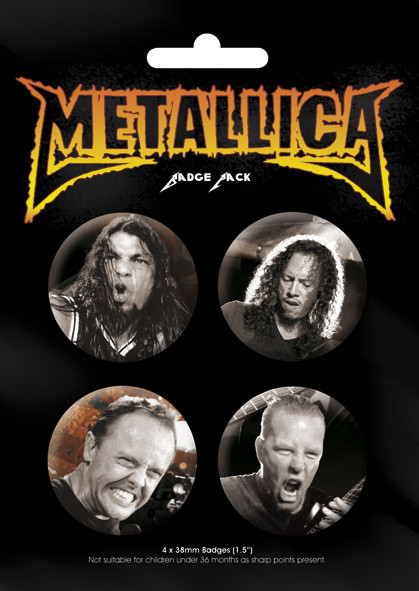 METALICA - Band Badge Pack