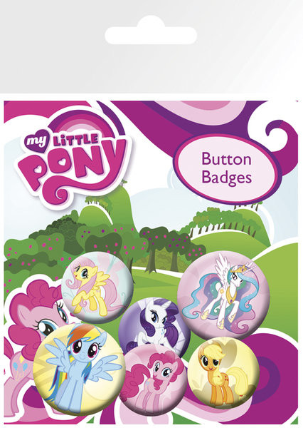 MY LITTLE PONY - characters Badge