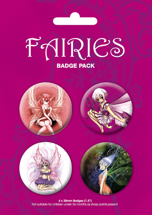 ODM - fairies Badge Pack
