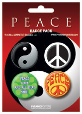 PEACE Badge Pack