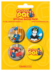 POSTMAN PAT Badge