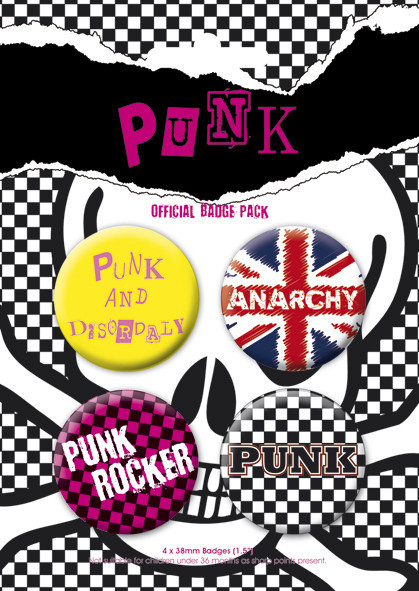 PUNK - Clean Badge Pack