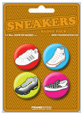 SNEAKERS Badge Pack