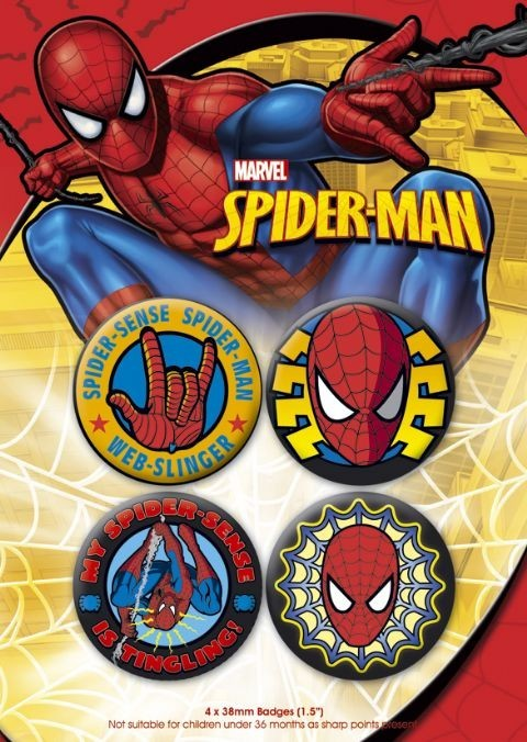 SPIDER-MAN 1 Badge Pack