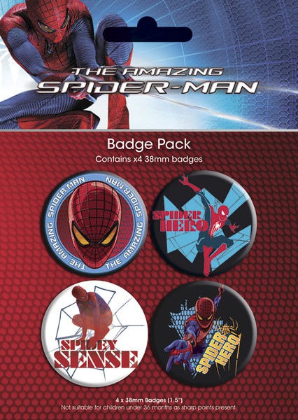 SPIDERMAN AMAZING - gener Badge Pack
