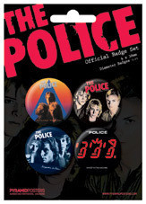 THE POLICE - Albums Badge Pack